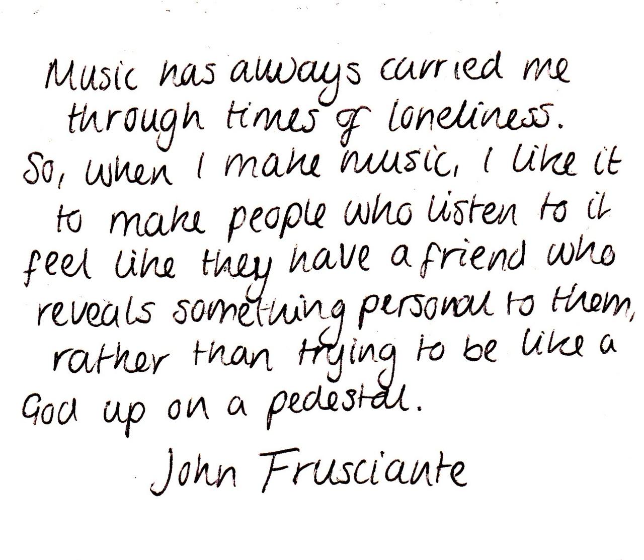 John Frusciante's quote #3