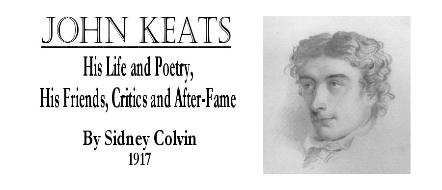 the biography and works of john keats John keats was an english romantic poet he was one of the main figures of the second generation of romantic poets along with lord byron and percy bysshe shelley, despite his work only.