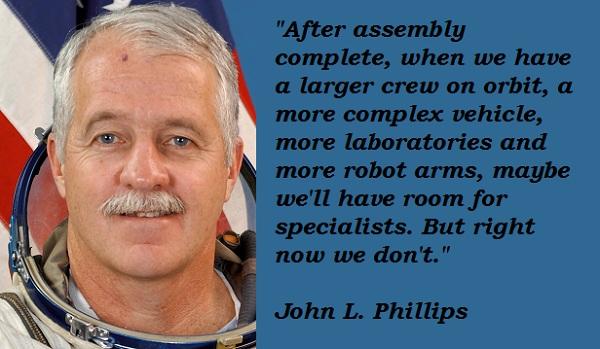 John L. Phillips's quote #1