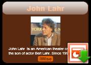 John Lahr's quote #3