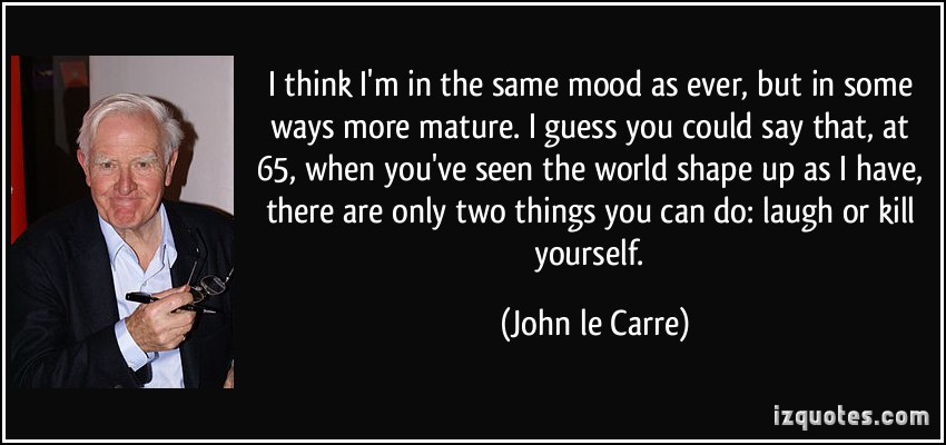 John le Carre's quote #2