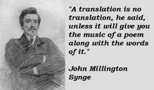 John Millington Synge's quote #4