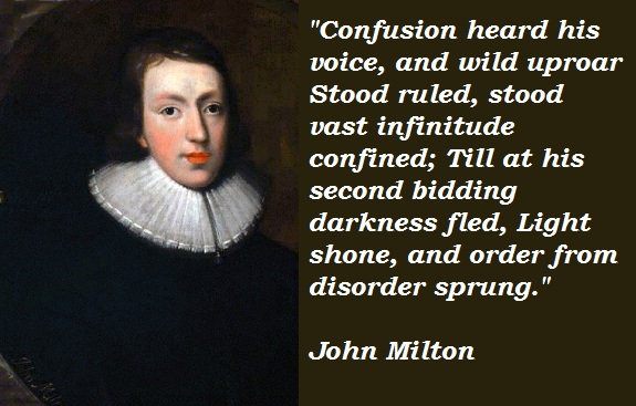 John Milton's quote #1