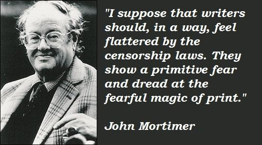 John Mortimer's quote #5