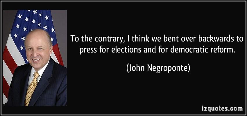 John Negroponte's quote #3
