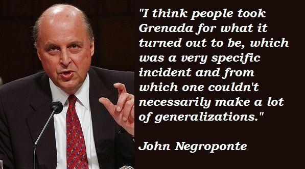 John Negroponte's quote #5