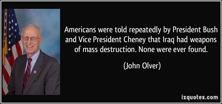 John Olver's quote