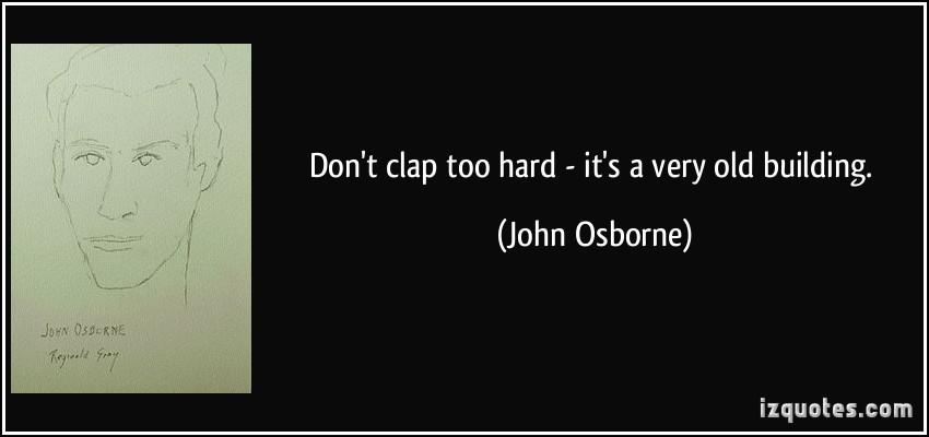 John Osborne's quote #2