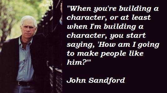 John Sandford's quote #4