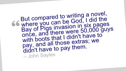 John Sayles's quote #5