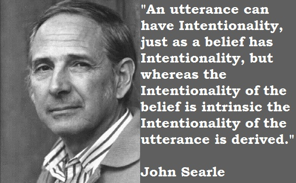John Searle's quote #1