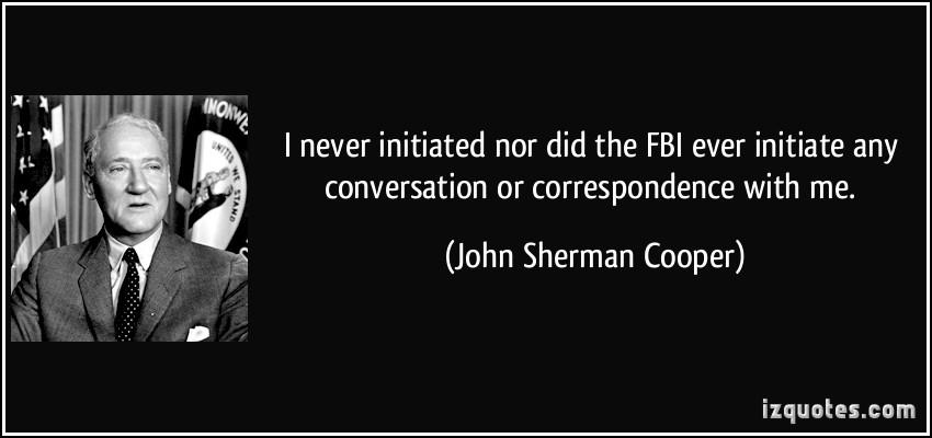 John Sherman Cooper's quote #5