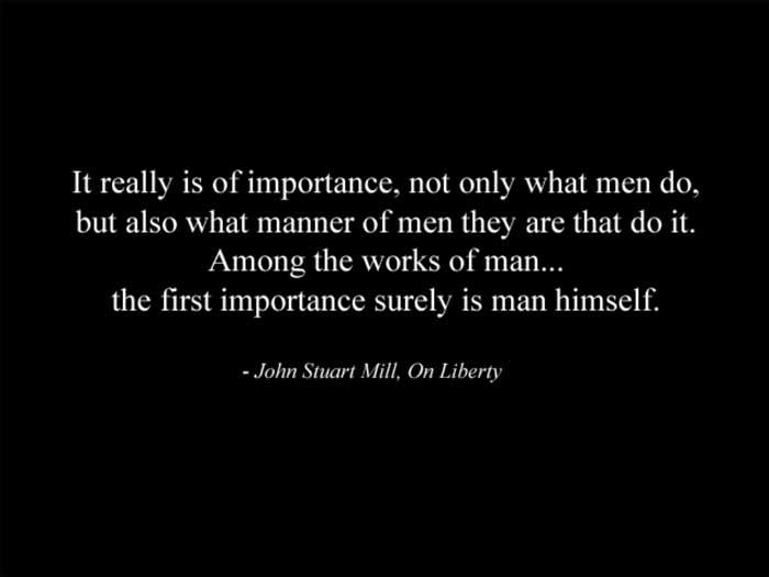 John Stuart Mill's quote #1