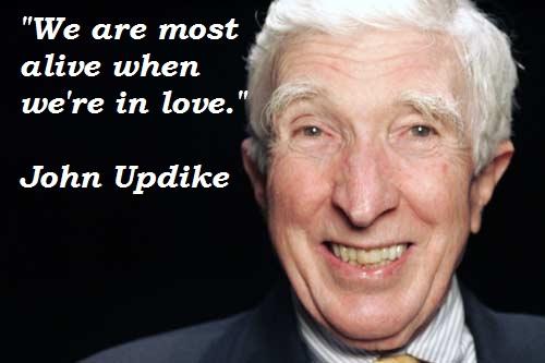 John Updike's quote #1
