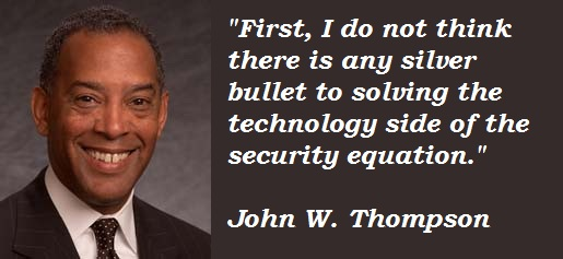 John W. Thompson's quote #1