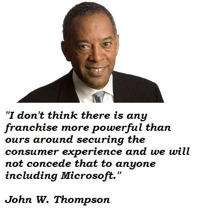 John W. Thompson's quote #2