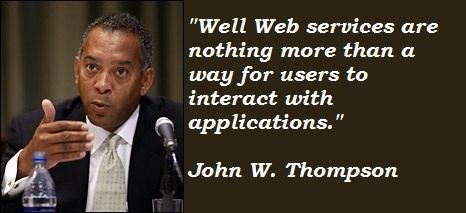 John W. Thompson's quote #4
