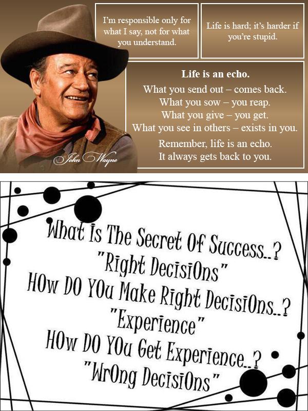John Wayne quote #1