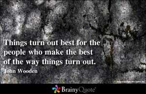 John Wooden's quote #1