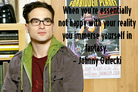 Johnny Galecki's quote #7
