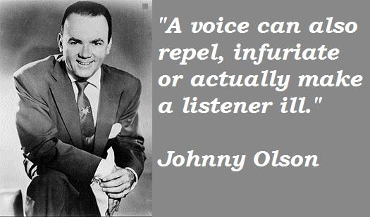 Johnny Olson's quote #2