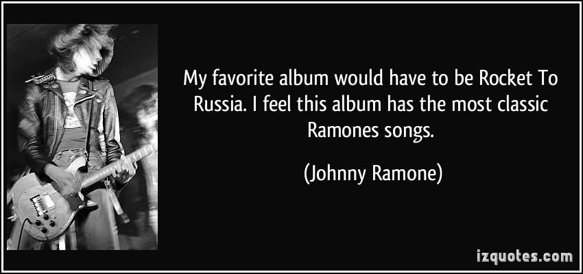 Johnny Ramone's quote #5