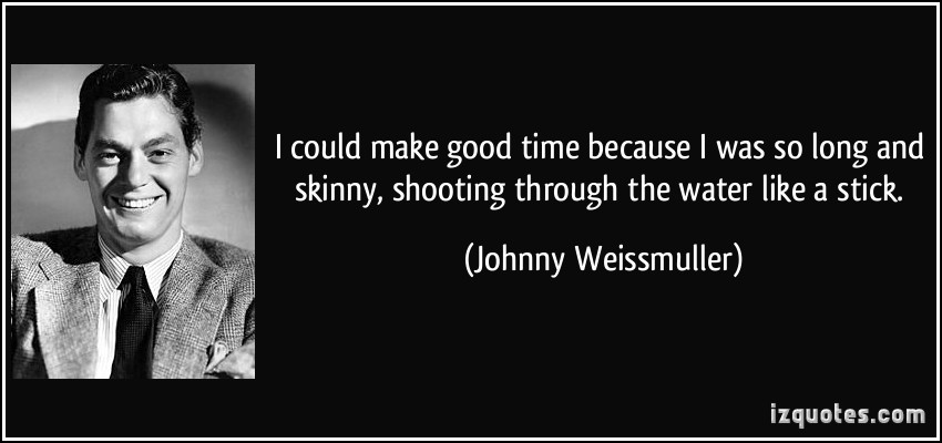Johnny Weissmuller's quote #1