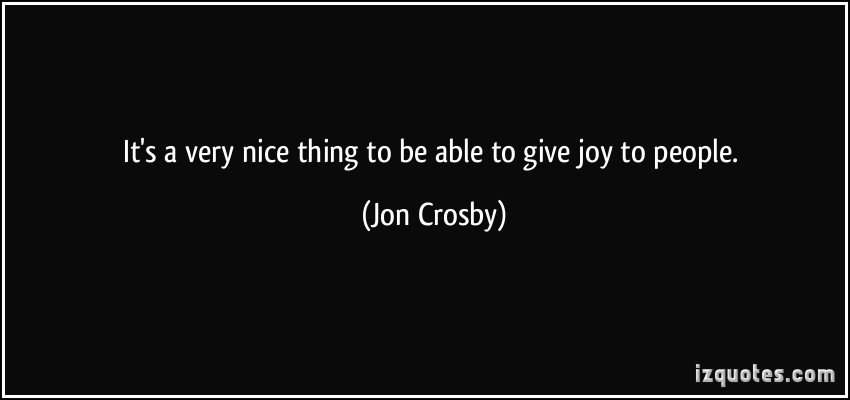 Jon Crosby's quote #2