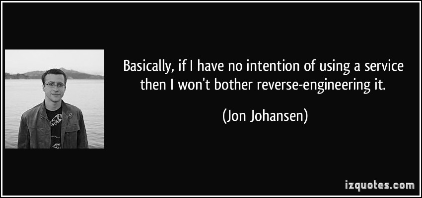 Jon Johansen's quote #1