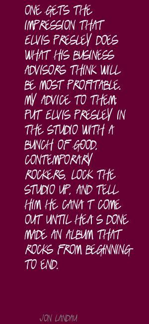 Jon Landau's quote #4