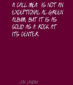 Jon Landau's quote