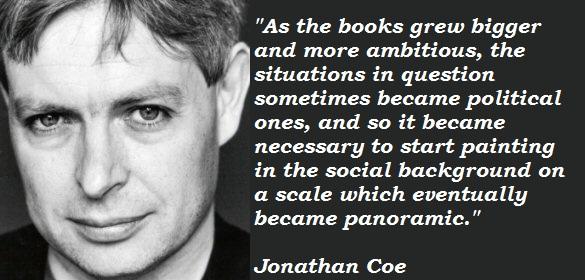 Jonathan Coe's quote #6
