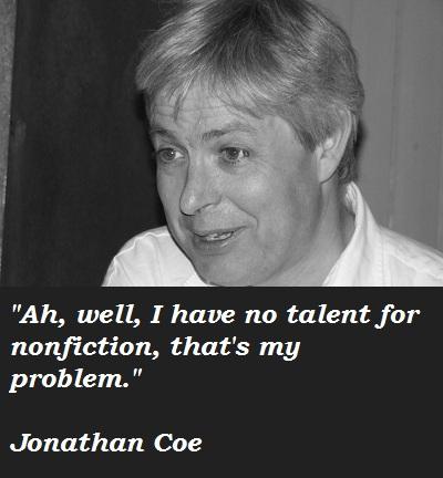 Jonathan Coe's quote #8