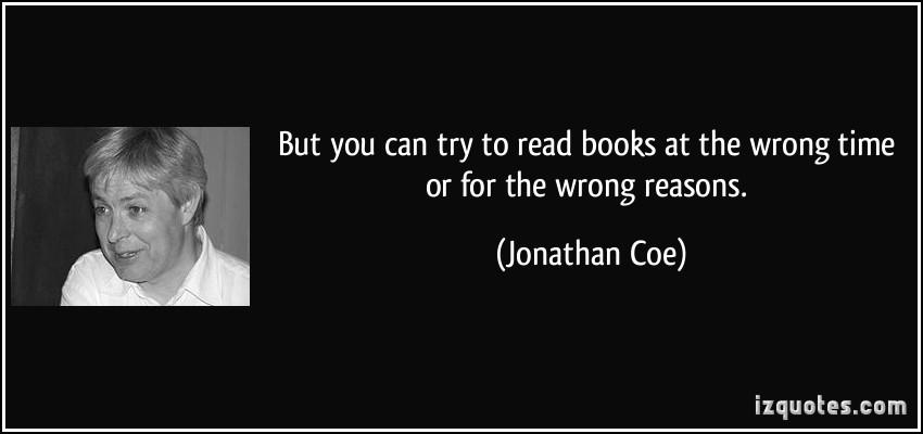 Jonathan Coe's quote #4