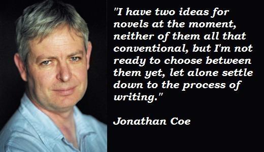 Jonathan Coe's quote #3