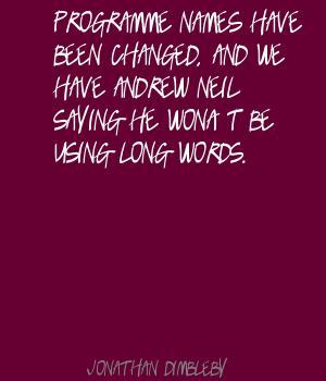 Jonathan Dimbleby's quote #3