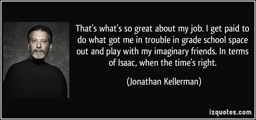 Jonathan Kellerman's quote #1