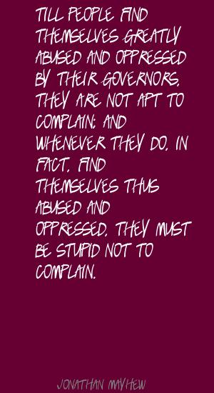 Jonathan Mayhew's quote #4