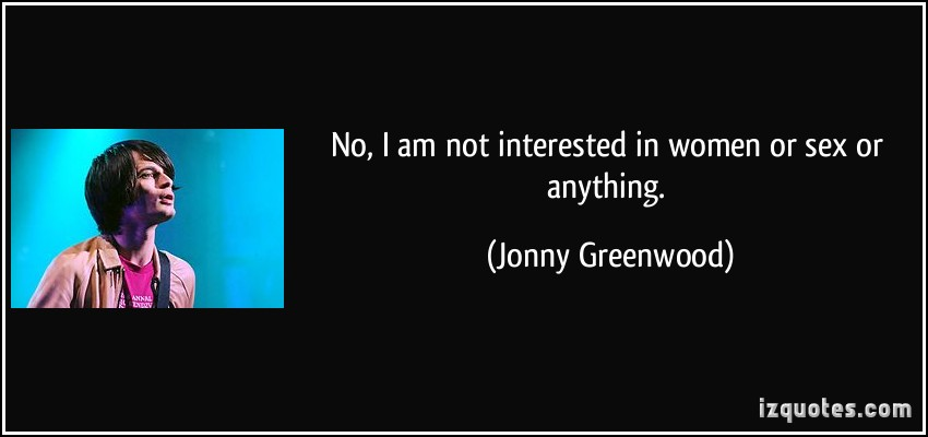 Jonny Greenwood's quote #8