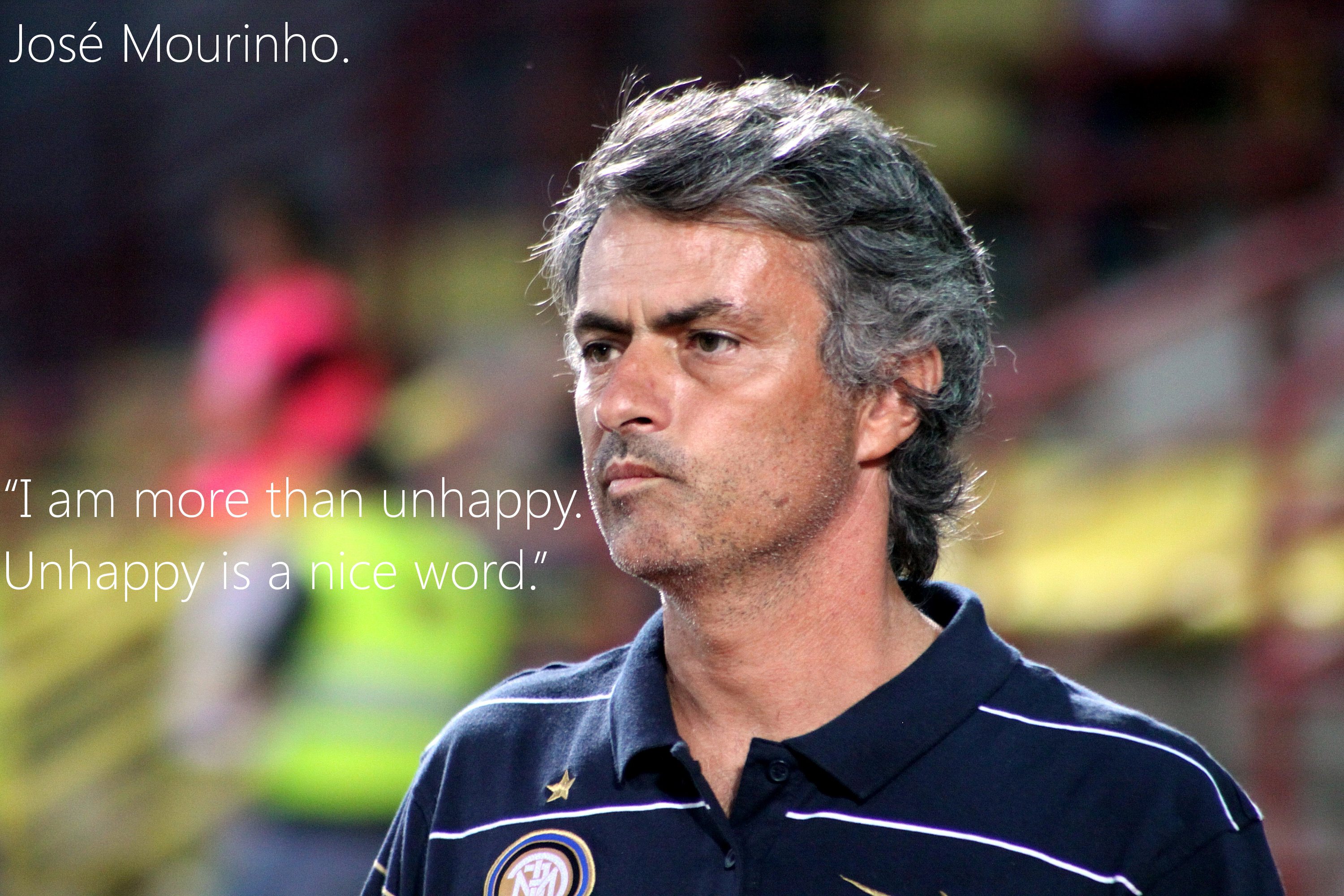 jose mourinho quotes Jose mourinho slams spurs, calls himself one of the greats and quotes philosophy in press conference.