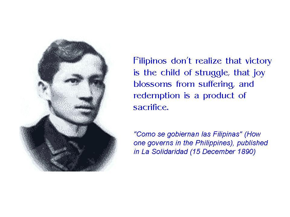Jose Rizal's quote #1