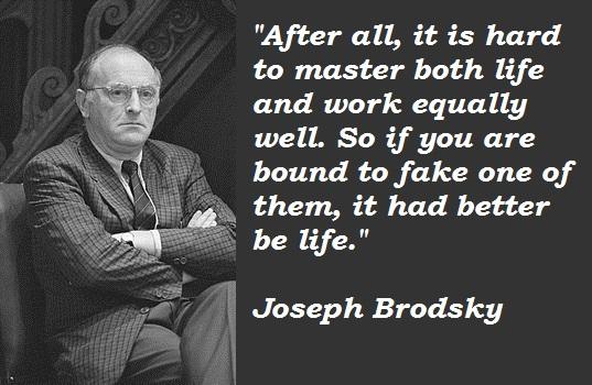 Joseph Brodsky's quote #3