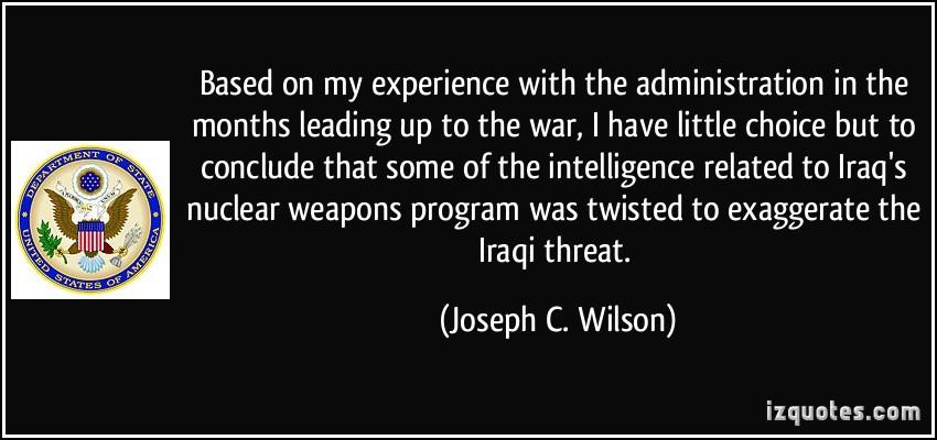 Joseph C. Wilson's quote #1