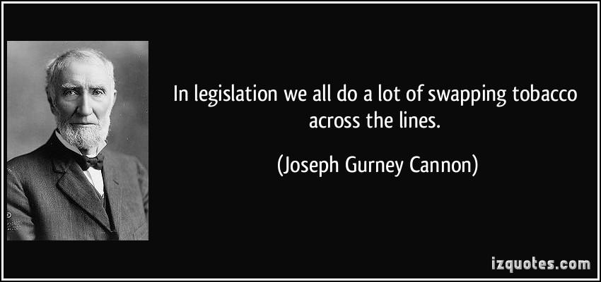 Joseph Cannon's quote