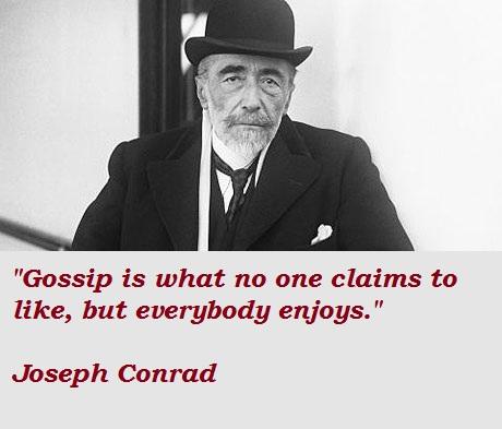 Joseph Conrad's quote #2
