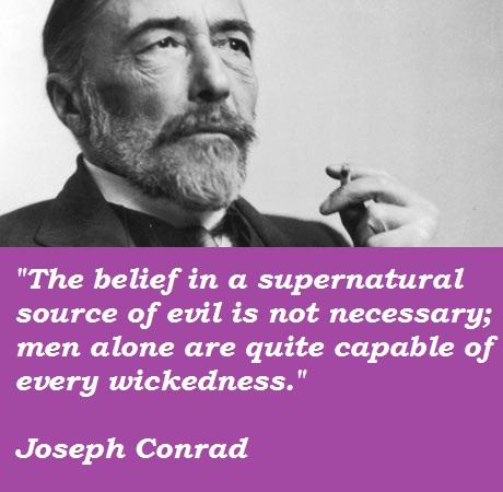 Joseph Conrad's quote #8