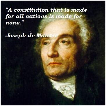 Joseph de Maistre's quote #2