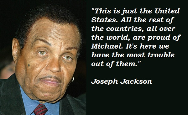 Joseph Jackson's quote #1
