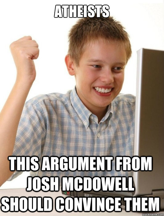 Josh McDowell's quote #7
