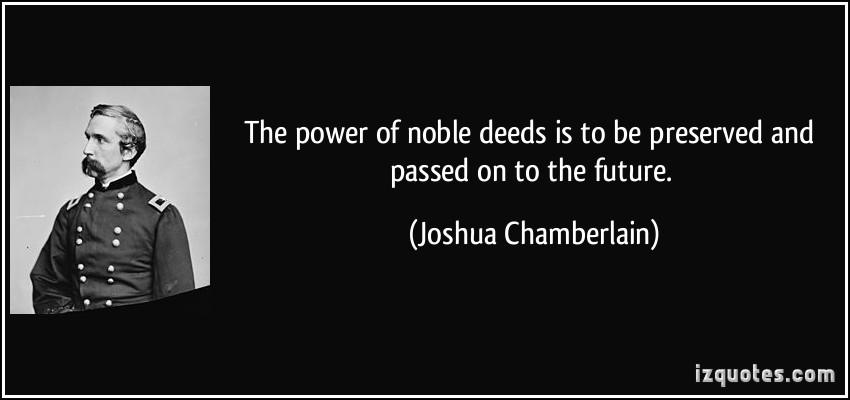 Joshua Chamberlain's quote #7